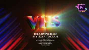The Complete 80s Title Toolkit For Premiere Pro MOGR
