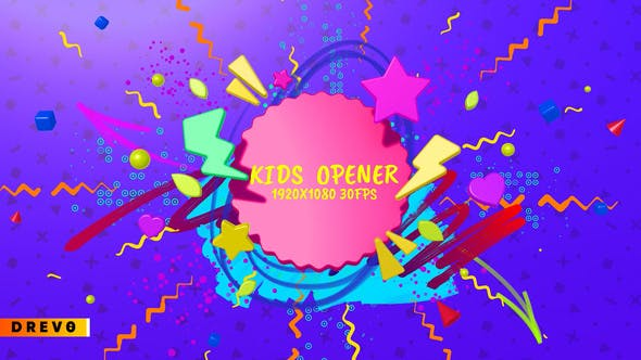 Kids Opener/ Happy Birthday Opener/ Youtube Channel/ Children Show/ Cartoon/ School Education/ Toys