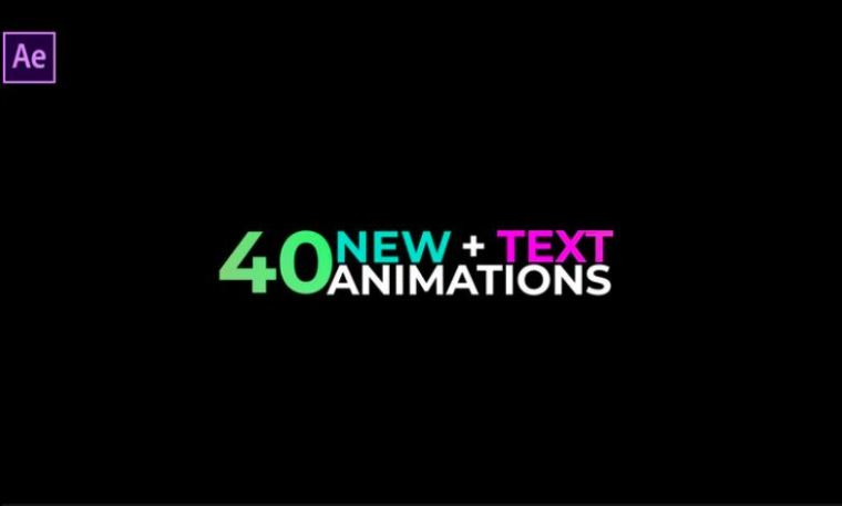 40 New Text Animations