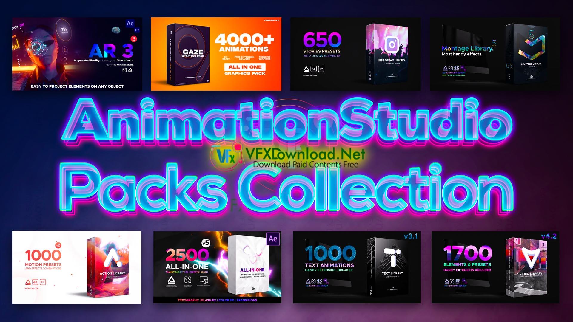 AnimationStudio Packs Collection 2021