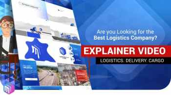 Explainer Video   Logistics Services. Delivery
