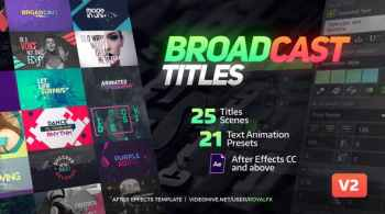 TypeX Broadcast Titles
