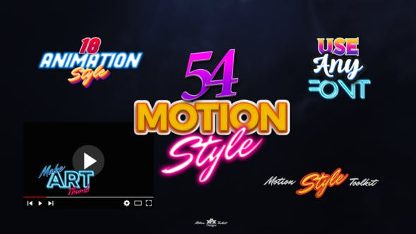 Motion Styles Toolkit   Text Effects & Animations