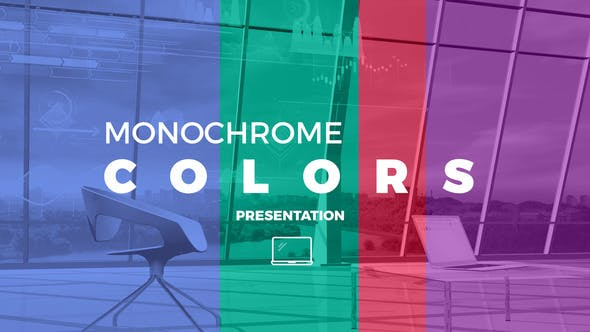 Monochrome Colors Presentation