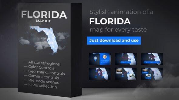 Florida Map Florida Map Kit