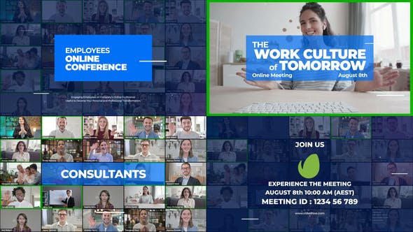 Online Meeting Video Conference Promo