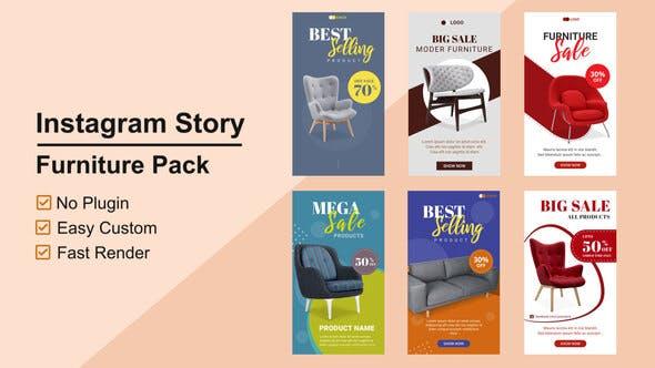 Furniture Instagram Stories V11