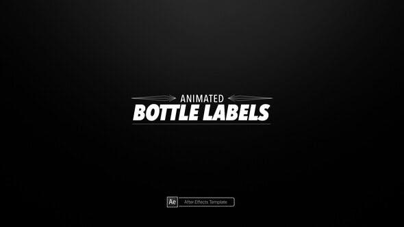 Animated Bottle Labels