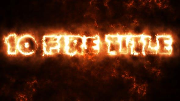 10 Fire Titles