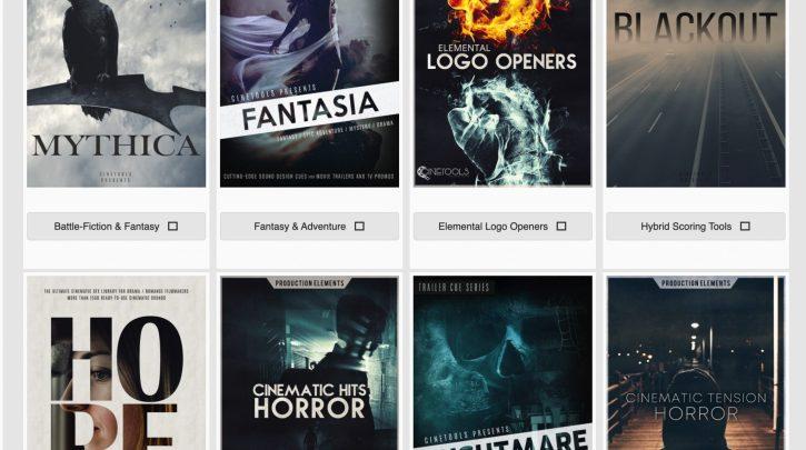 Cinetools SFX Collection – Cine-tools.com