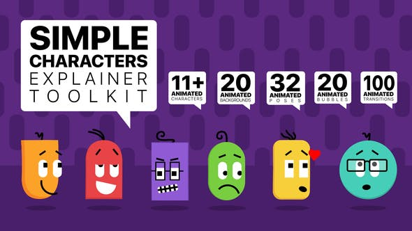 Simple Characters Explainer Toolkit