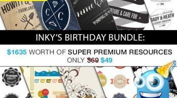 InkyDeals – Inkys Birthday Bundle with $1635 worth of Super Premium Resources