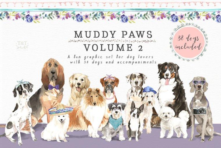 Muddy Paws Volume 2 – Dogs Galore 2388098