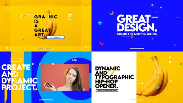 Dynamic And Typographic Hip-Hop Opener