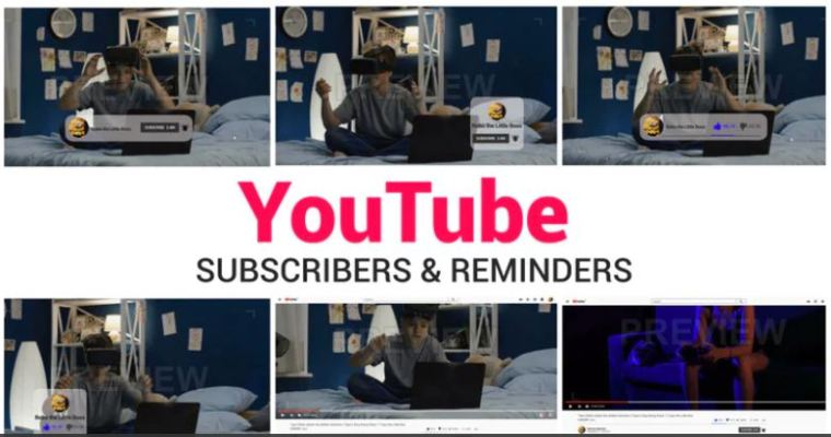 YouTube Subscribe & Reminder