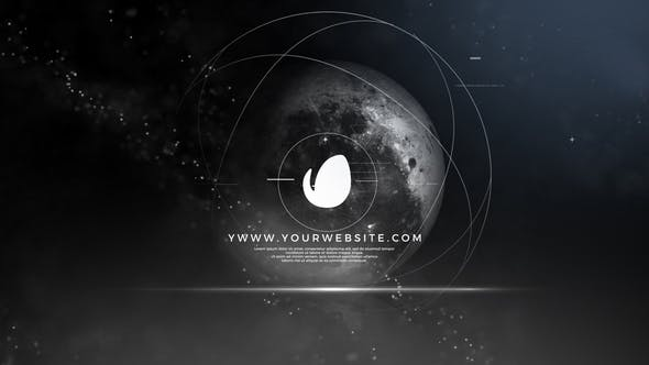Space Logo Animation