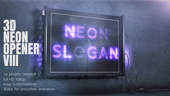 3D Neon Opener 3