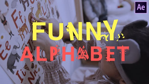 Funny Alphabet | After Effects