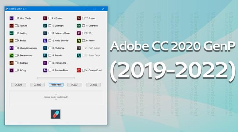 Adobe CC 2020 GenP