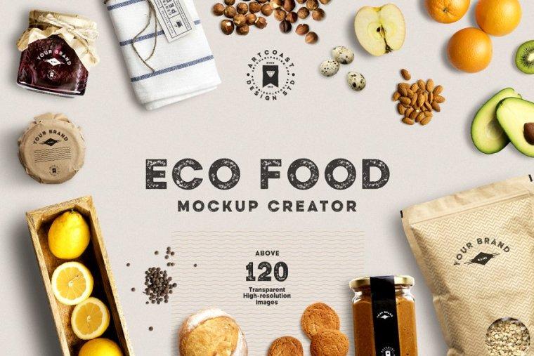 Eco Food Mockup Creator