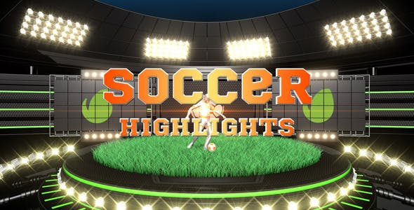 Soccer Highlights Ident Broadcast Pack