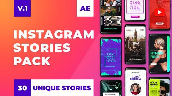 Instagram Stories Pack V1