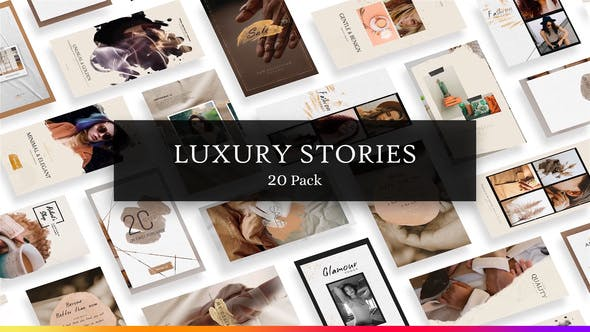 Luxury Instagram Stories