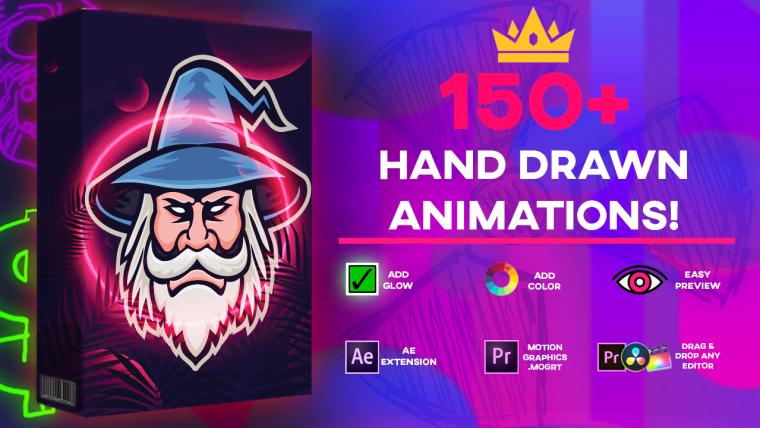 Max Novak / Media Monopoly - Ultimate 150+ Animation Pack