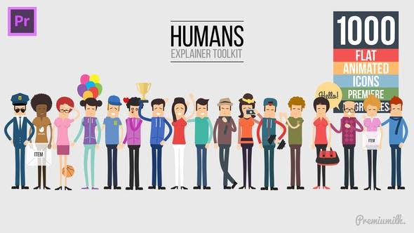 Humans Explainer Essential Graphics Mogrt