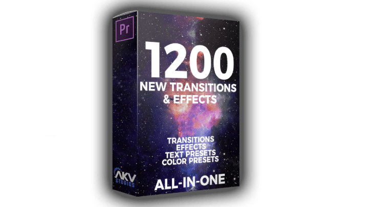 AKV Studios - 1200+ Transitions & Effects - Elite Editor Pack
