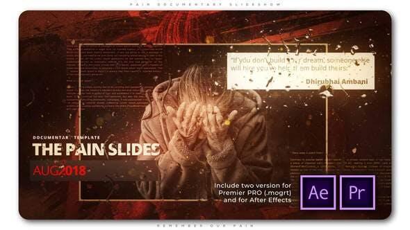 Pain Documentary Slideshow
