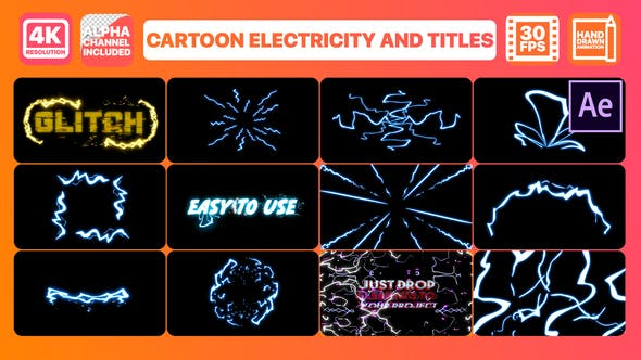 Cartoon Electricity And Titles