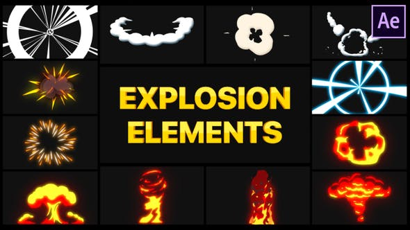 Explosion Elements | After Effects