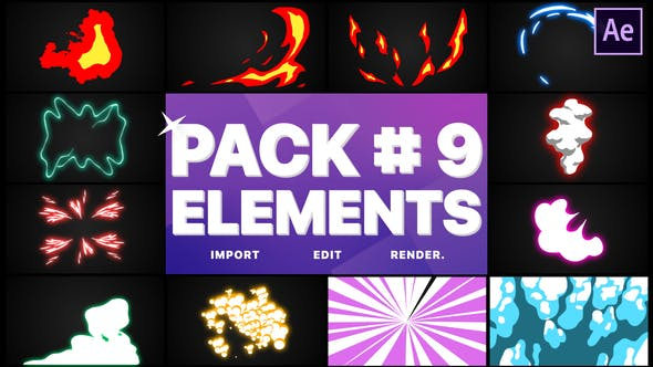 Flash FX Elements Pack 09 | After Effects