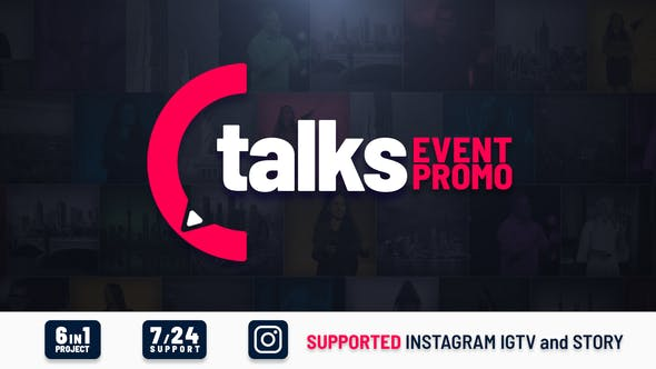 Talks Event Promo