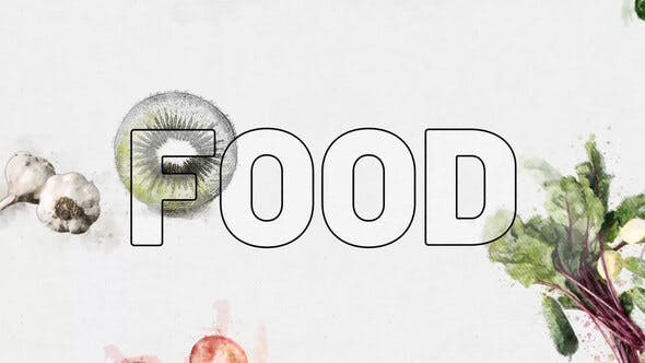 Vegetarian Fresh Food Logo