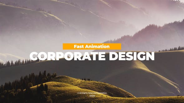 Corporate Titles Pack For After Effects