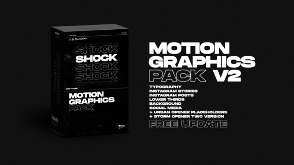 Shock Motion Graphics Pack V2