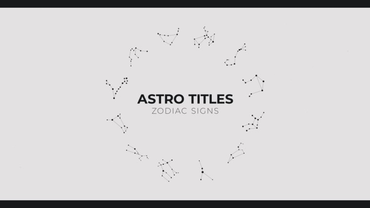 Astro Titles Pack for After Effects