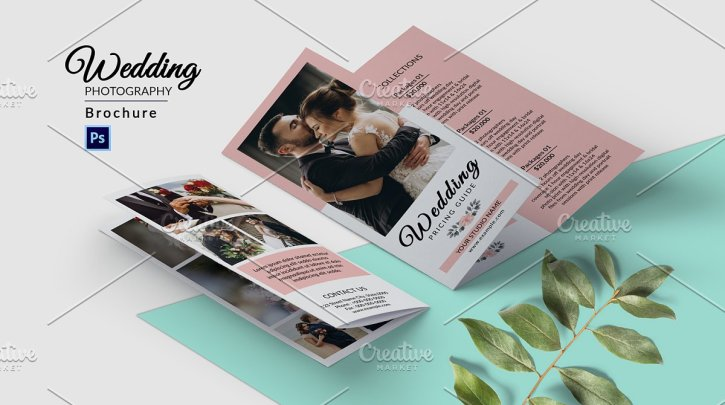 Trifold Photography Brochure V945