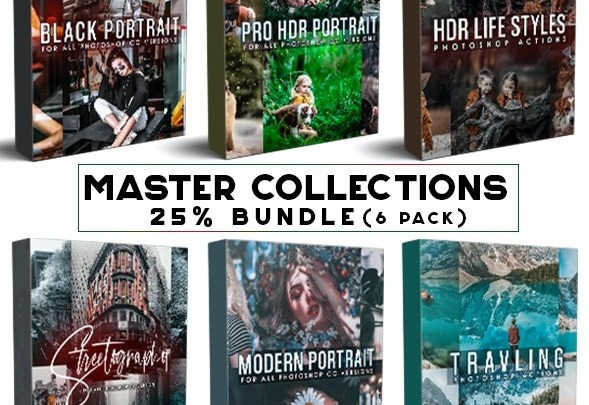 GraphicRiver Master Collection Bundle Photoshop Actions 28765170