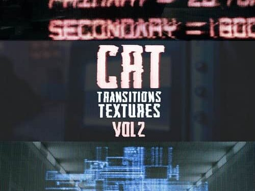 Master Filmmaker - CRT Transitions + Texture Vol. 2