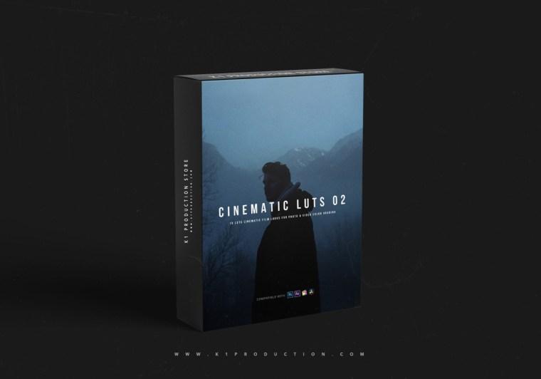 Sellfy - K1 - Cinematic LUTs 02 - LOG LUTs