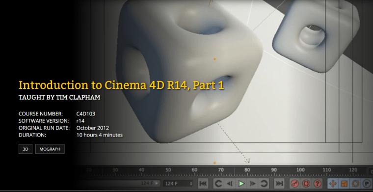 FXPHD - C4D103 Introduction to Cinema 4D R14 Part 1
