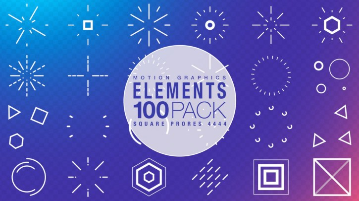Download Motion Graphic Elements Collection