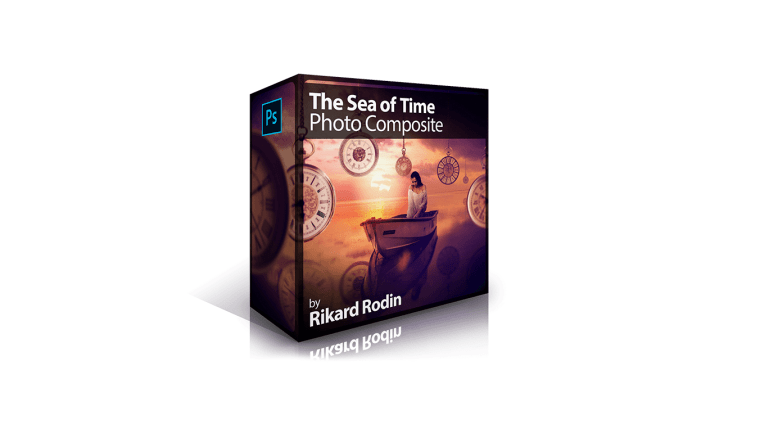 PhotoSerge - The Sea of Time Photo Composite by Rikard Rodin