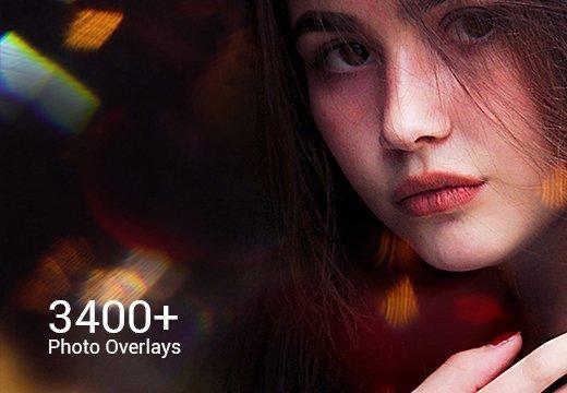 Inkydeals - 3400+ Photo Overlays Pack