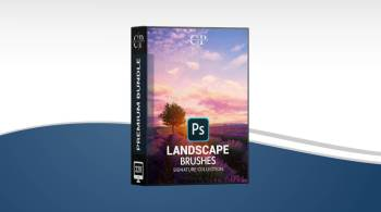 Cleverphotographer - Landscape Photography Photoshop Brushes