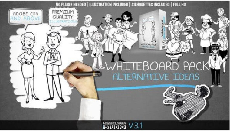 Videohive Whiteboard: Alternative Ideas