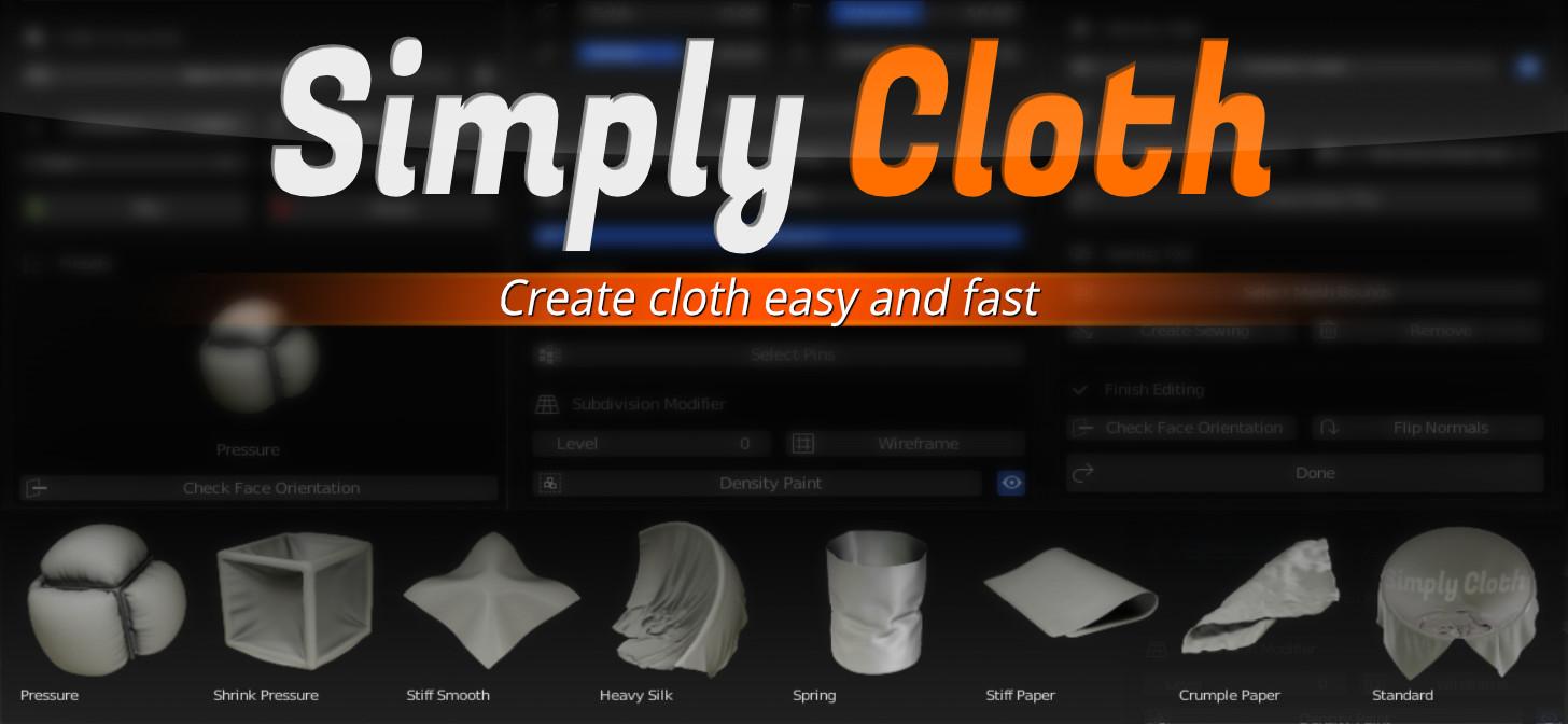 Blendermarket - Simply Cloth Pro
